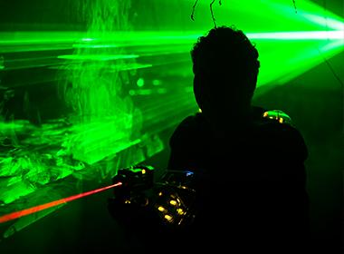 Afbeelding van De Uithof  Lasergamen