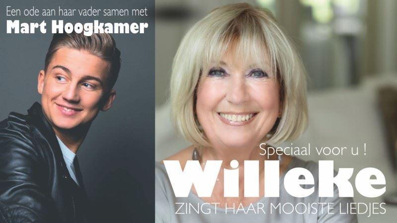 Afbeelding van Willeke Alberti met Mart Hoogkamer