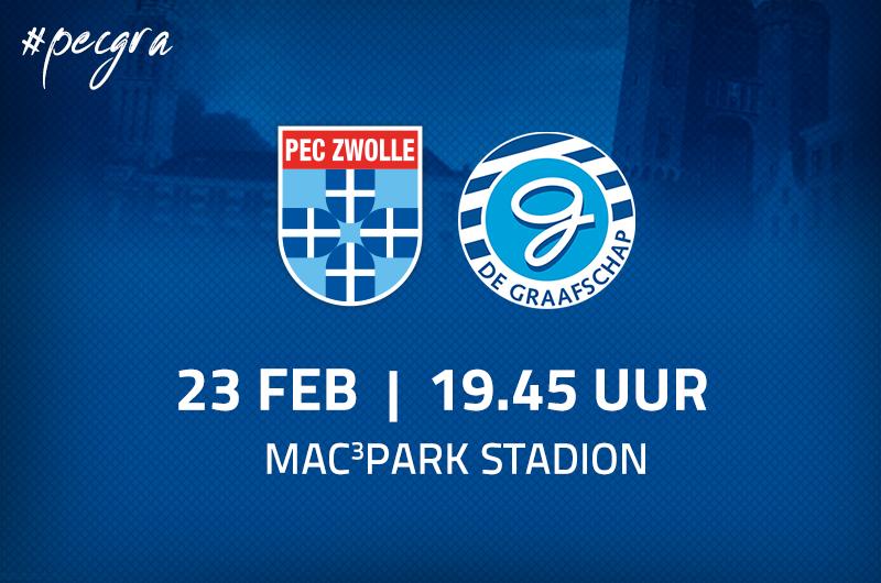 Afbeelding van PEC Zwolle - De Graafschap