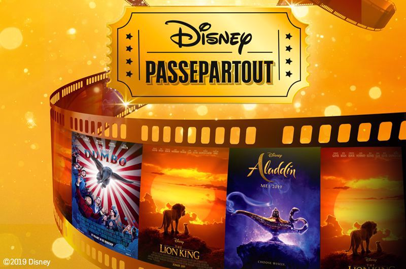 Afbeelding van 1 ticket, 3 Disney films