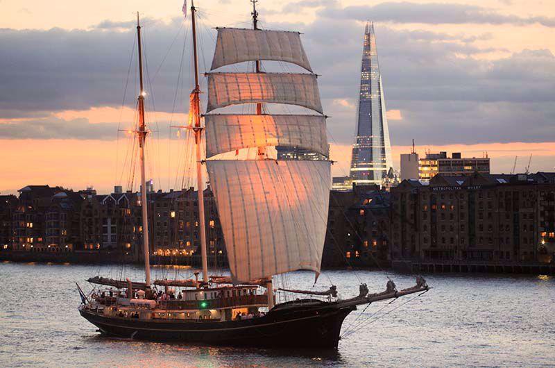 Afbeelding van Tall Ship Experience (incl. vuurwerk) Scheveningen