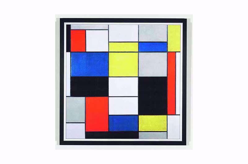 Afbeelding van Piet Mondriaan Schilderij 'Grote compositie A'