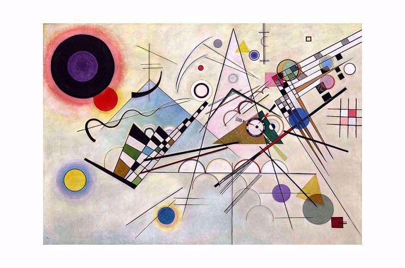 Afbeelding van Wassily Kandinsky, Schilderij 'Komposition VIII'