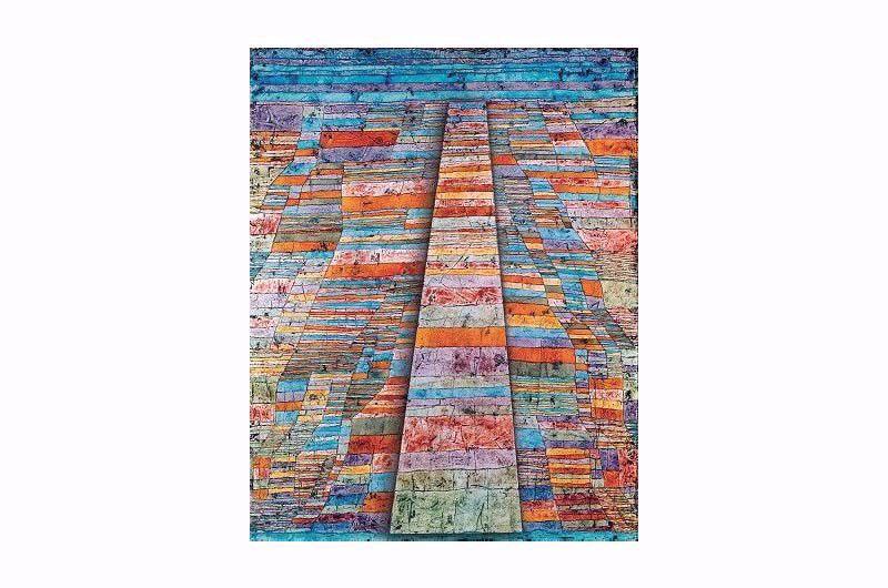 Afbeelding van Paul Klee 'Hoofd- en zijwegen'