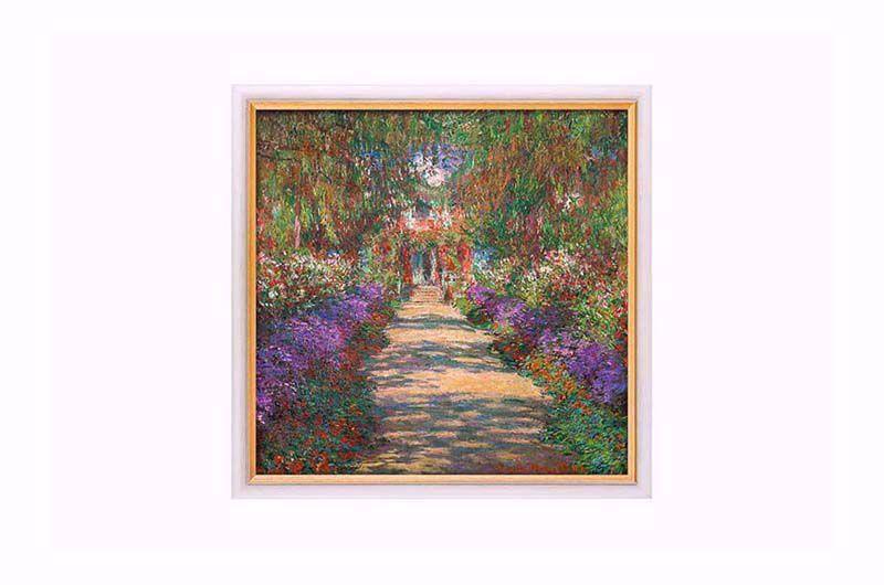Afbeelding van Claude Monet - Garten in Giverny