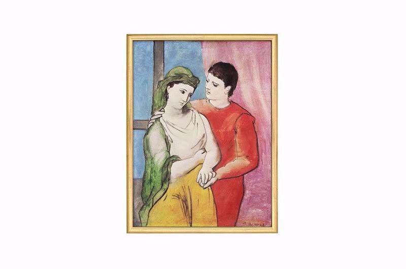 Afbeelding van Pablo Picasso 'The Lovers'