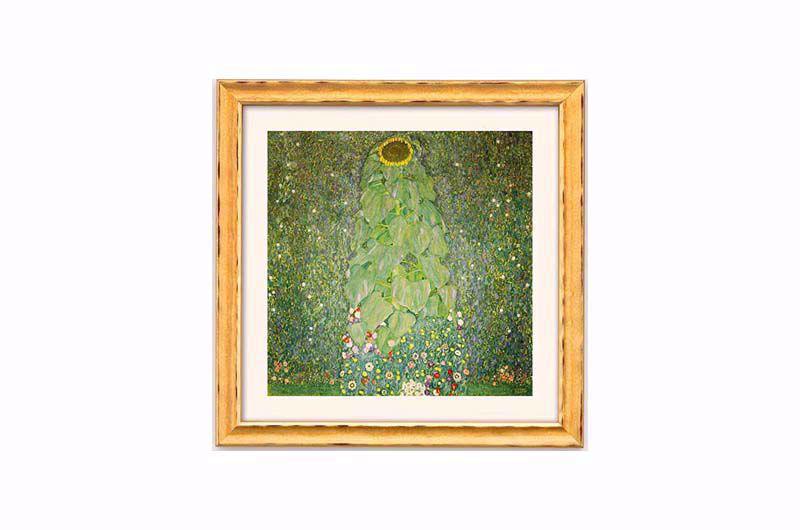 Afbeelding van Gustav Klimt, De zonnebloem'