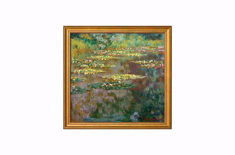 Afbeelding van Claude Monet 'Nymphéas'