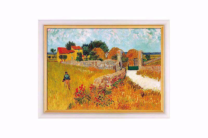 Product afbeelding: Vincent van Gogh Een boerderij in de Provence