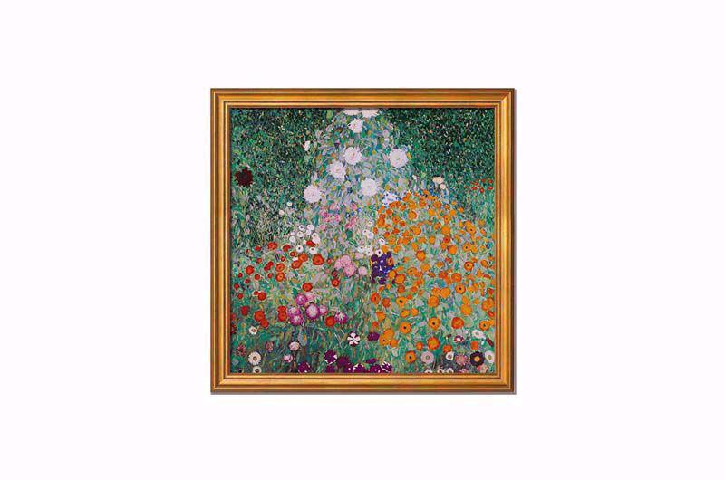 Afbeelding van Gustav Klimt - Bloementuin