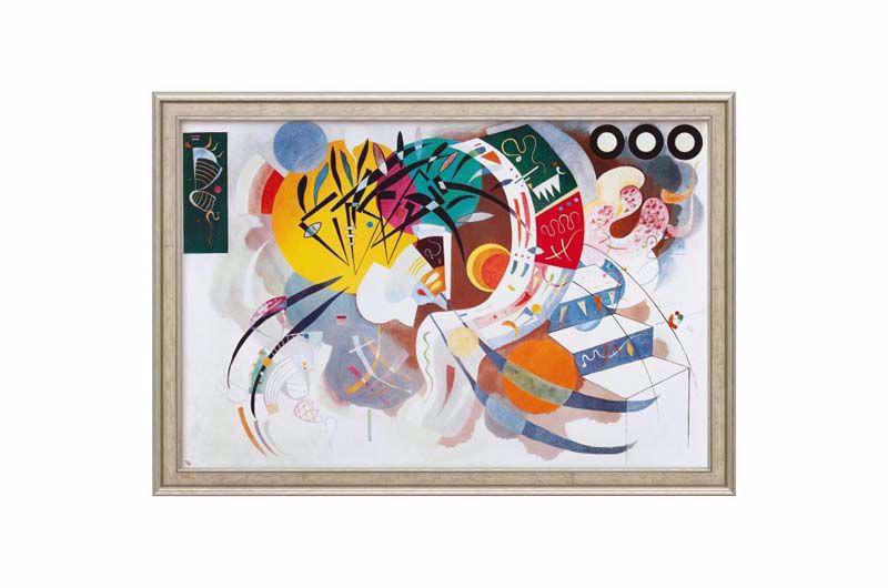 Afbeelding van Wassily Kandinsky 'Dominant curve'