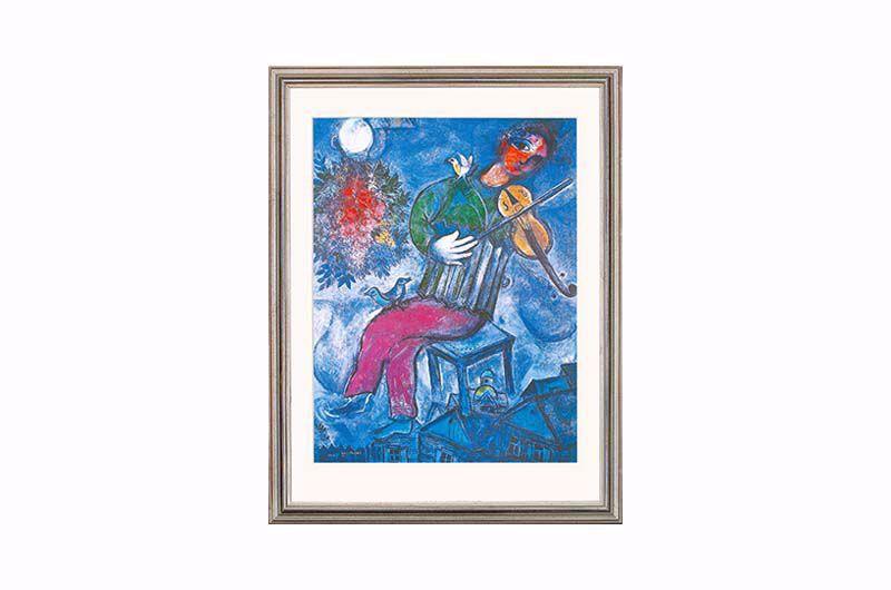 Product afbeelding: Le violoniste bleu