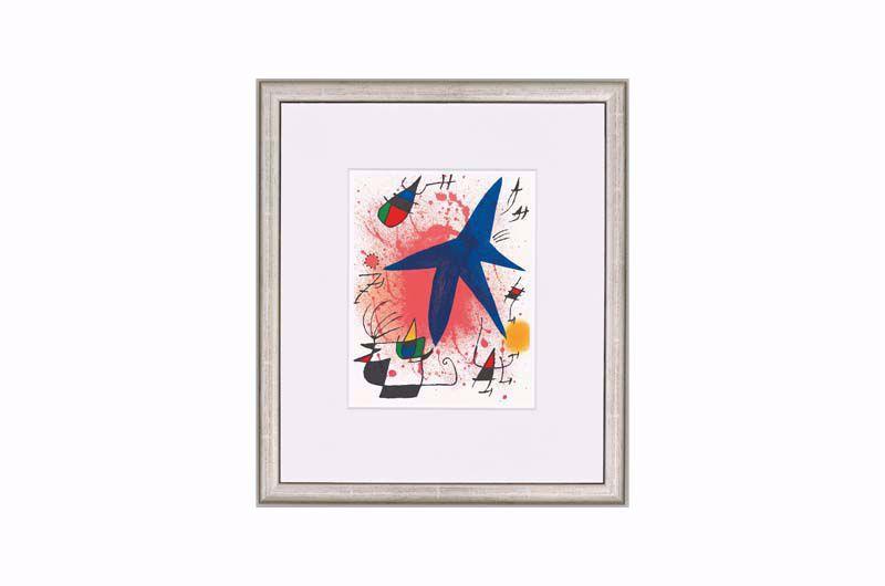 Afbeelding van Joan Miró 'L'étoile bleue' ('De blauwe ster')