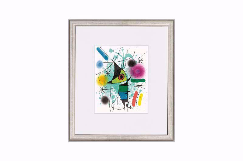 Afbeelding van Joan Miró 'Le chanteur' ('De zanger')