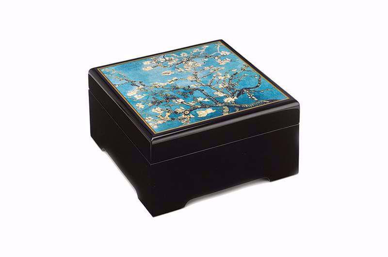 Afbeelding van Vincent van Gogh Muzikale bewaarbox 'Amandelbloesem'