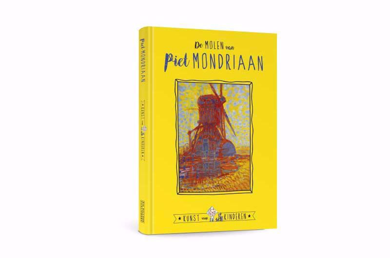 Afbeelding van De Molen van Piet Mondriaan