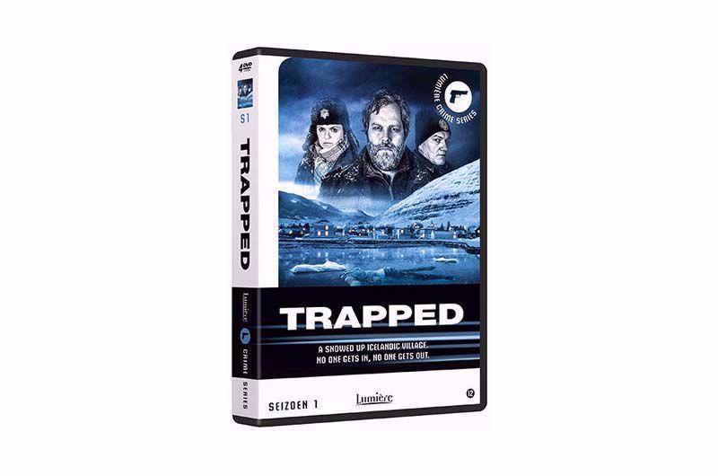Afbeelding van Trapped seizoen 1 DVD