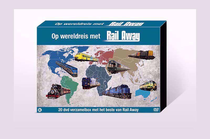 Afbeelding van Het Beste van 20 jaar Rail Away DVD box
