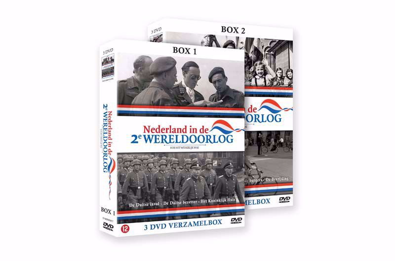 Afbeelding van Nederland in de 2e Wereldoorlog