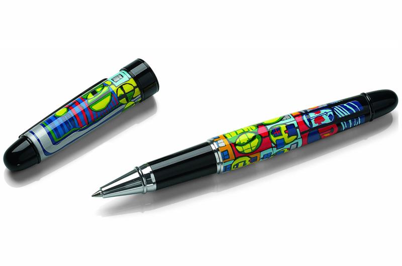Afbeelding van Friedensreich Hundertwasser Pen met motief