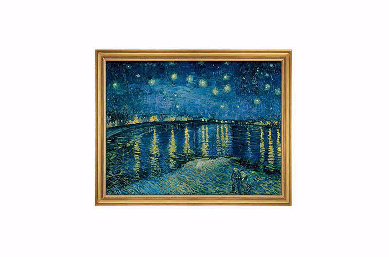 Product afbeelding: Vincent van Gogh Schilderij 'Sterrennacht boven de Rhône'