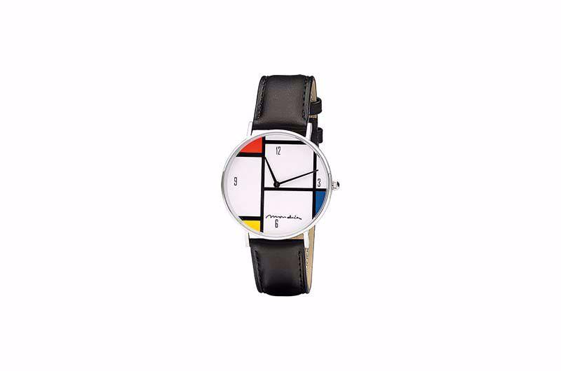 Product afbeelding: Kunstenaarshorloge 'Mondriaan - Tableau No. IV'