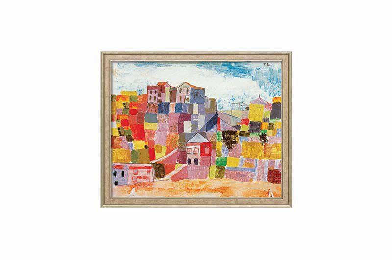 Product afbeelding: Paul Klee Schilderij 'Sicilië bij S. Andrea'