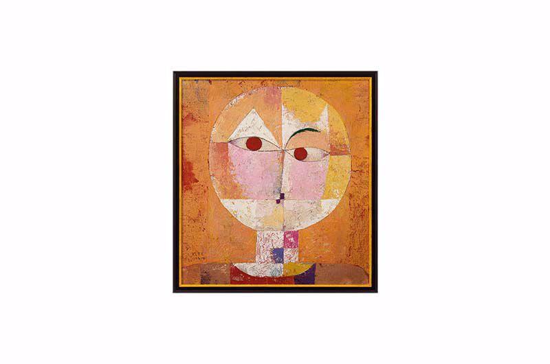 Product afbeelding: Paul Klee Schilderij 'Senecio (Baldgreis)'