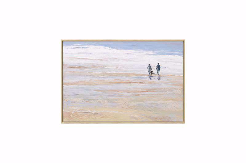 Product afbeelding: Schilderij 'De turbulente zee'