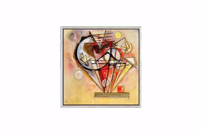 Product afbeelding: Wassily Kandinsky Schilderij 'Auf Spitzen'