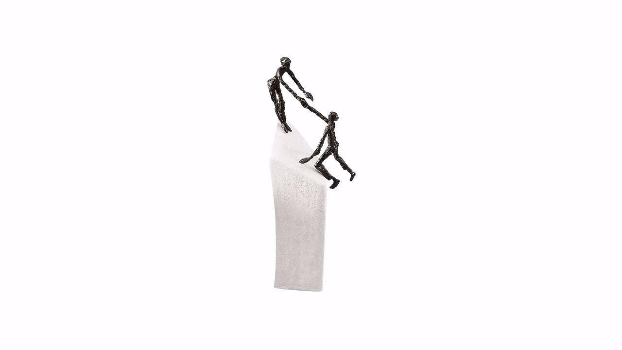 Product afbeelding: Sculptuur 'Met z'n tweeën'