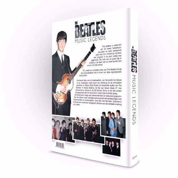 Product afbeelding: The Beatles - Music Legends