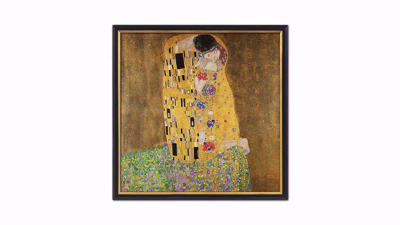 Product afbeelding: Schilderij 'De kus'