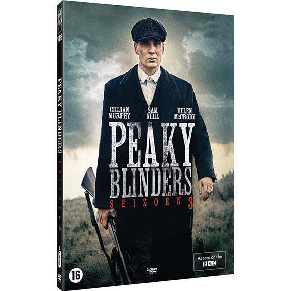Product afbeelding: Peaky Blinders DVD box