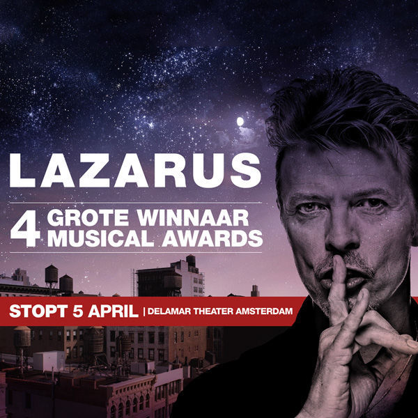 Product afbeelding: David Bowies Lazarus