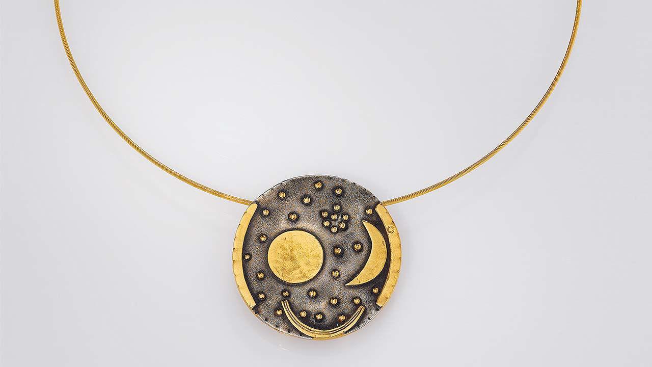 Product afbeelding: Collier 'Hemelschijf van Nebra'