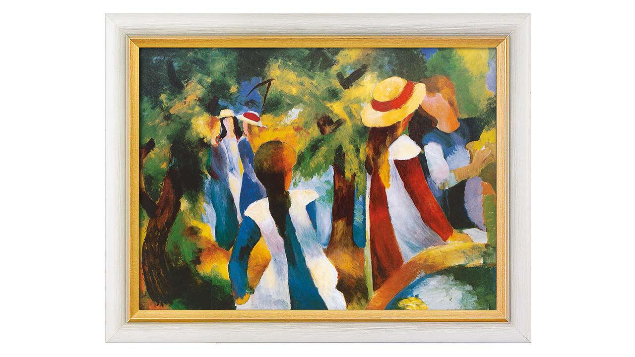 Product afbeelding: Meisjes onder bomen