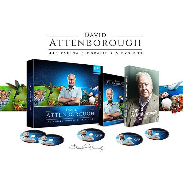 Korting David Attenborough box