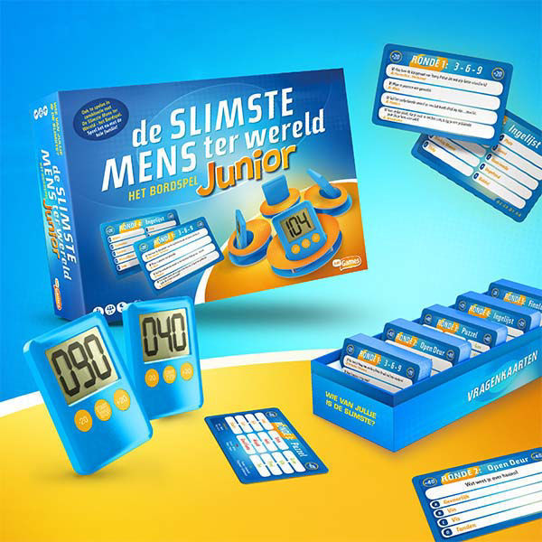 Korting De Slimste Mens Junior