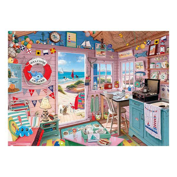 Product afbeelding: Het Strandhuis puzzel