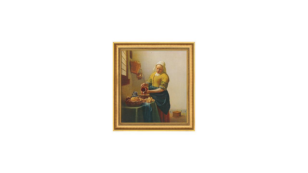 Product afbeelding: Johannes Vermeer Schilderij 'Het melkmeisje'