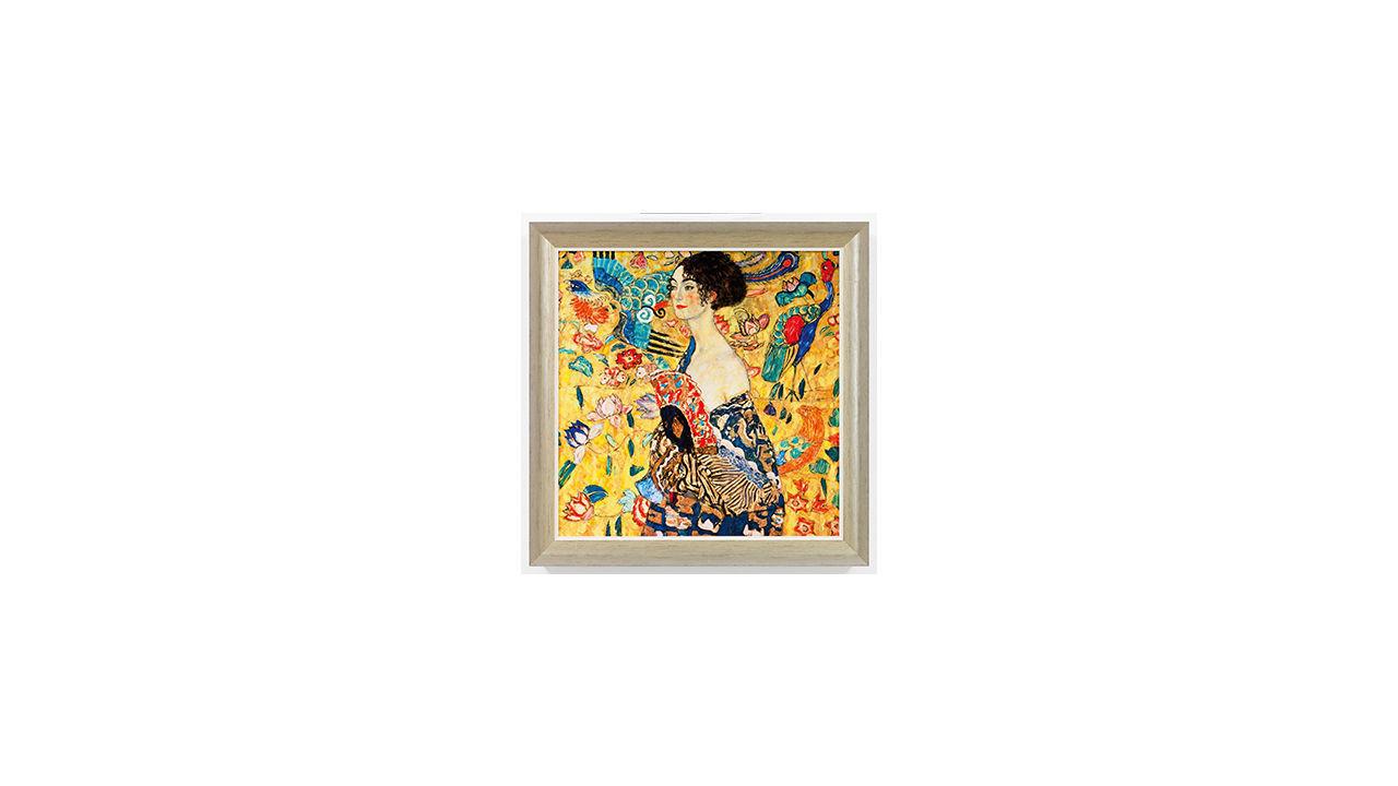 Product afbeelding: Schilderij 'Dame met waaier'