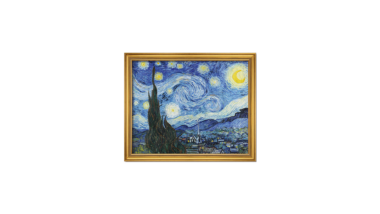 Product afbeelding: Vincent van Gogh Schilderij 'De sterrennacht'