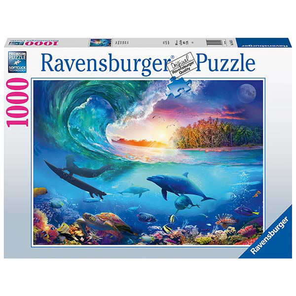 Product afbeelding: The Wave and the Dolphin legpuzzel