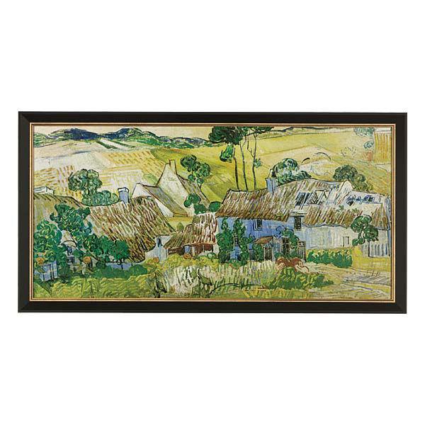 Product afbeelding: Vincent van Gogh Schilderij 'Boerderijen bij Auvers'