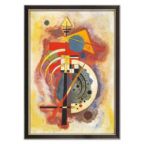 Product afbeelding: Wassily Kandinsky Schilderij 'Hommage aan Grohmann'
