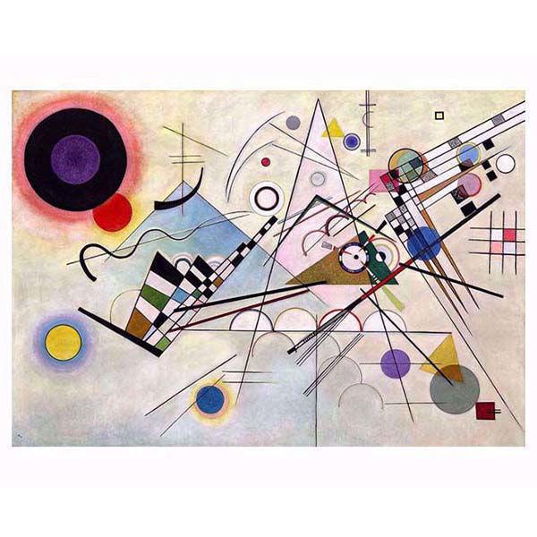 Product afbeelding: Schilderij 'Komposition VIII'