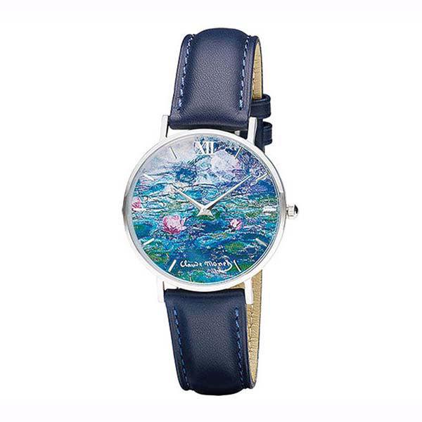 Product afbeelding: Kunstenaarshorloge 'Monet - De waterlelies'