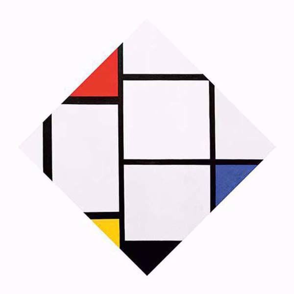 Product afbeelding: Piet Mondriaan 'Tableau No. IV'