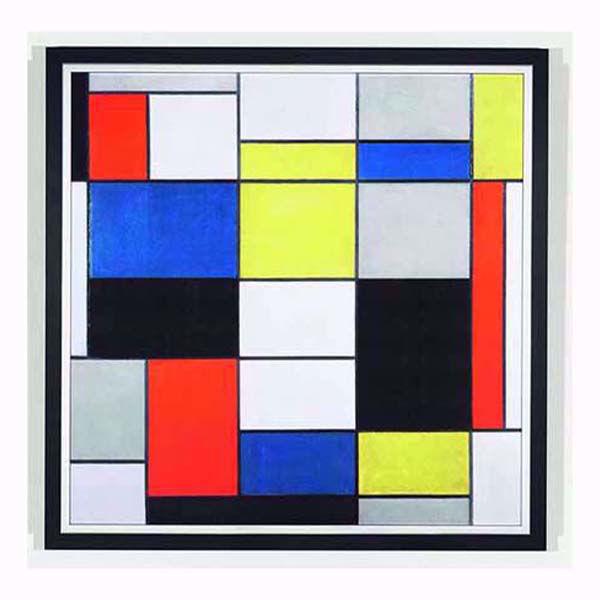 Product afbeelding: Piet Mondriaan Schilderij 'Grote compositie A'